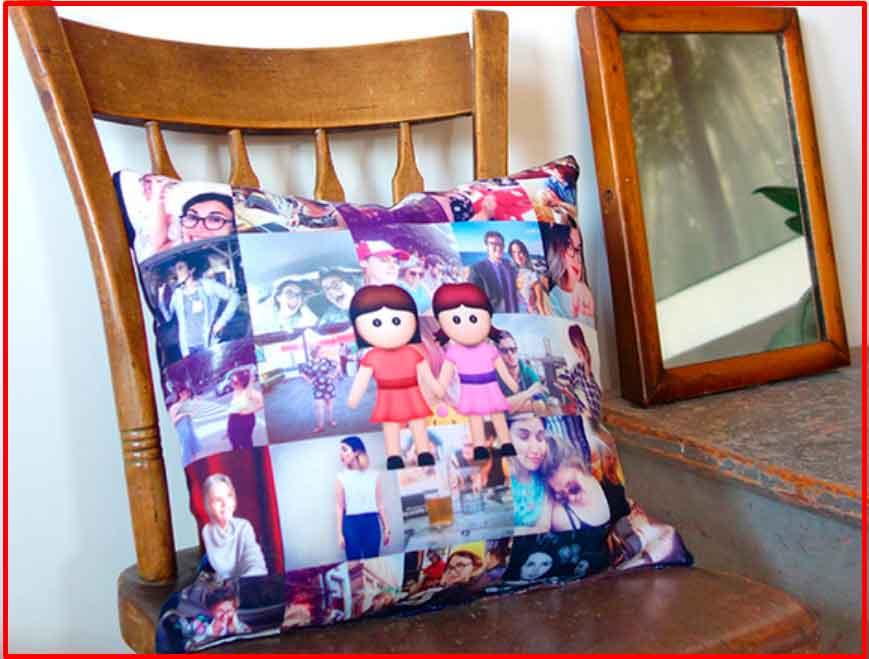 Производство подушек с собственными фото клиентов из Instagram