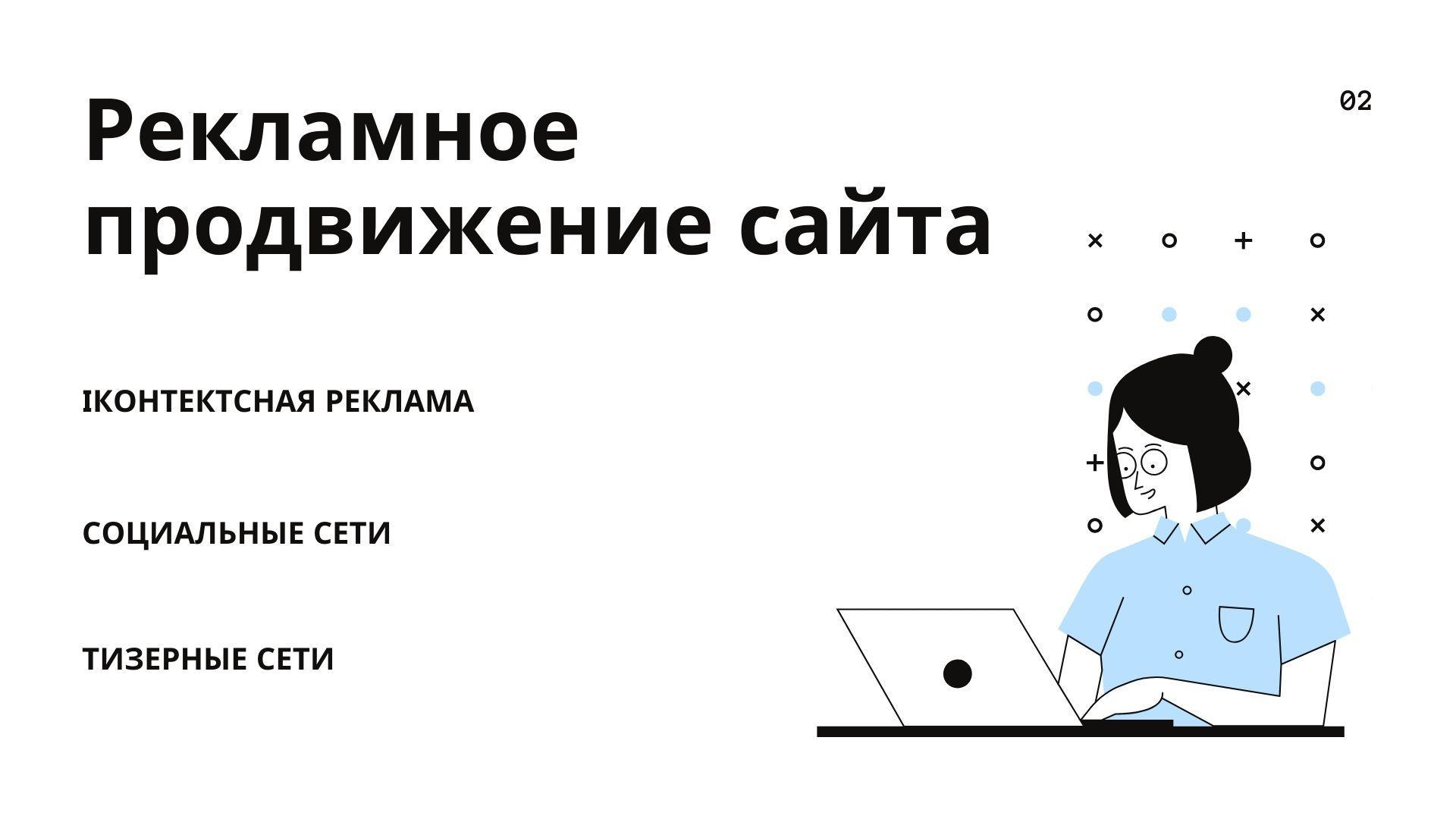 Рекламное продвижение сайта
