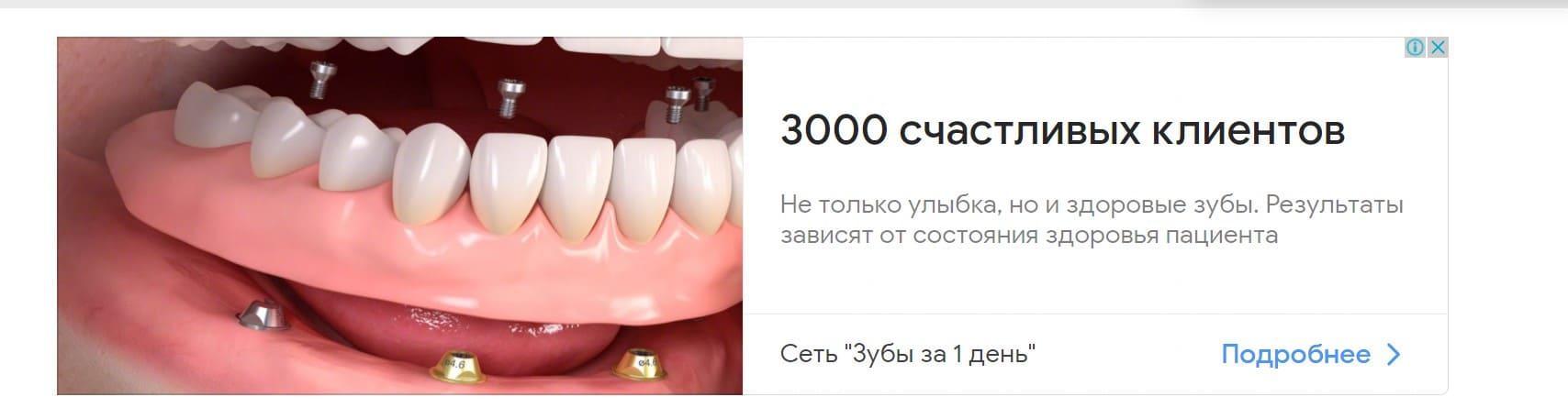 Реклама и продвижение стоматологии в интернете